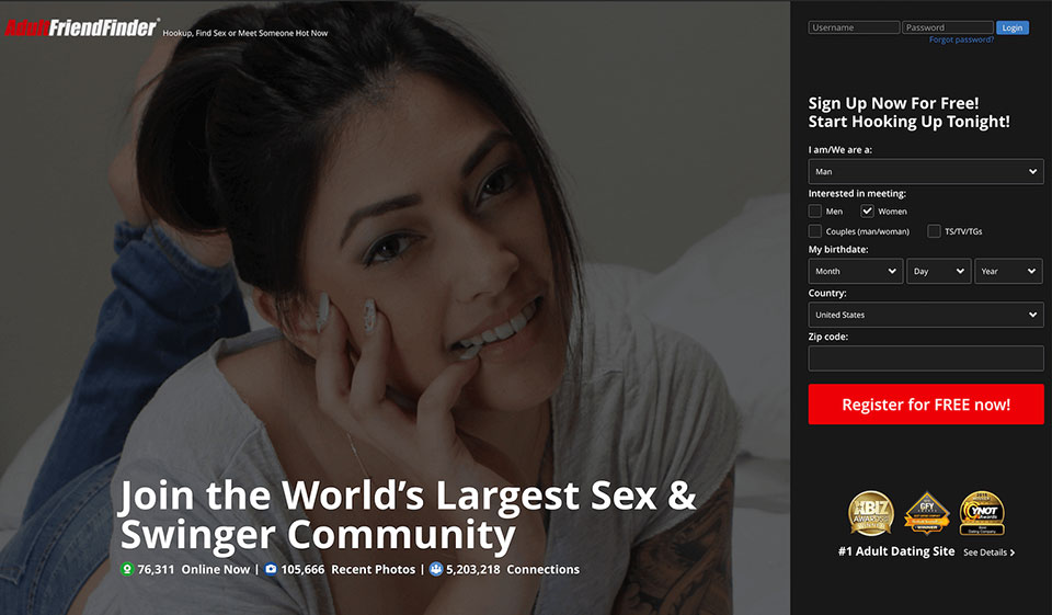 AdultFriendfinder Review 2021: Membership, Costs, and Features